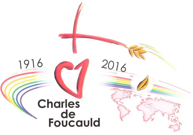 Logo Centenari mort Charles de Foucauld