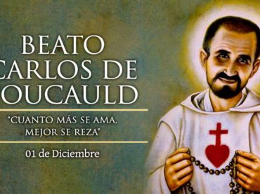 dia 1 de desembre 2020 -104 Aniversari Carles de Foucauld